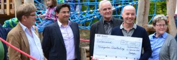 Spenden an die drei Unteraicher Kindergärten
