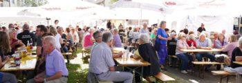 10. Unteraicher Sommerfest auf dem Dorfplatz