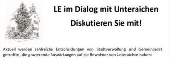 Unteraichen im Dialog mit LE