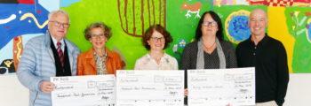 Spenden an die drei Unteraicher Schulen